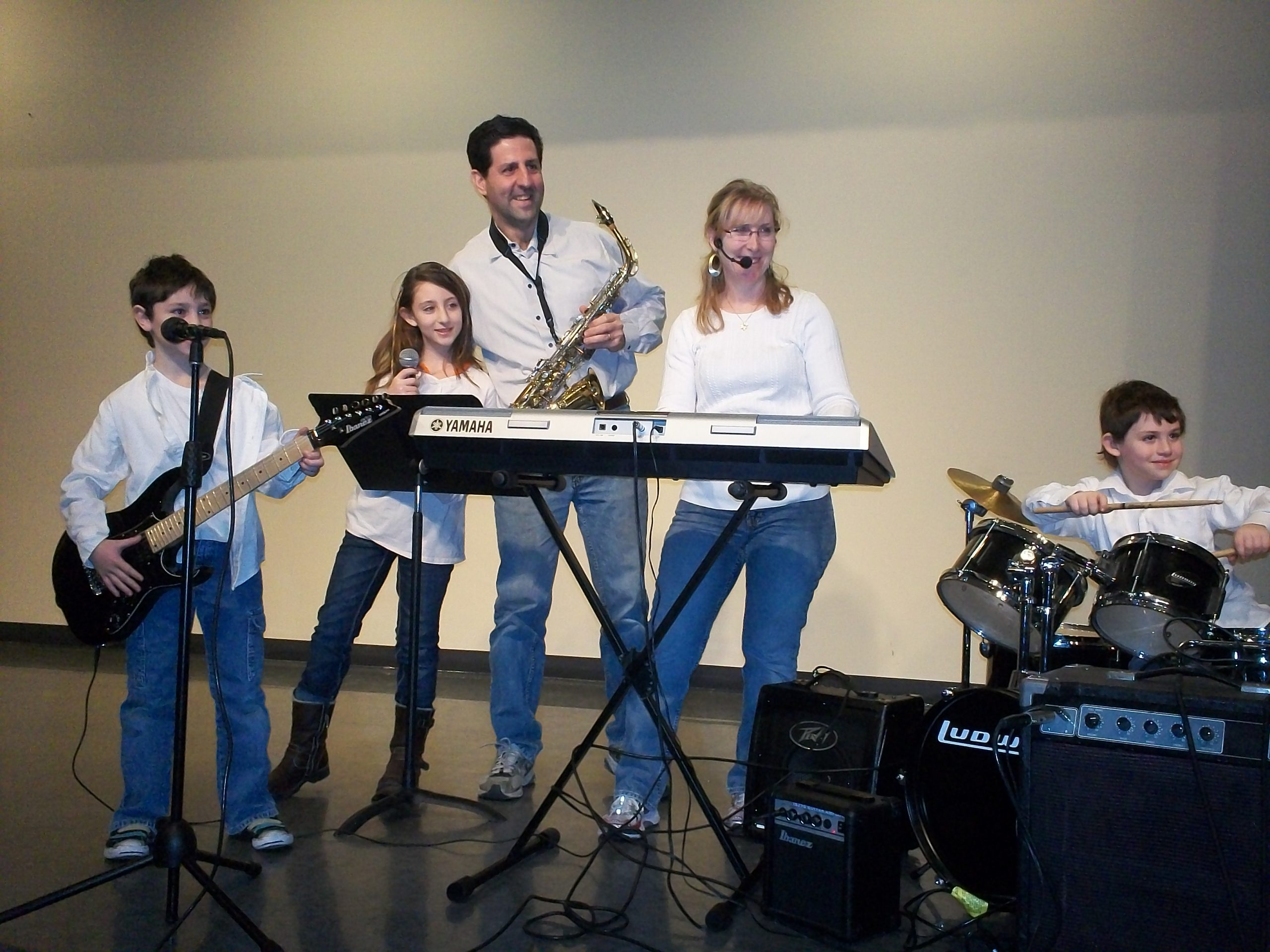 Chalnick Family Performs At Assisted Living Facility