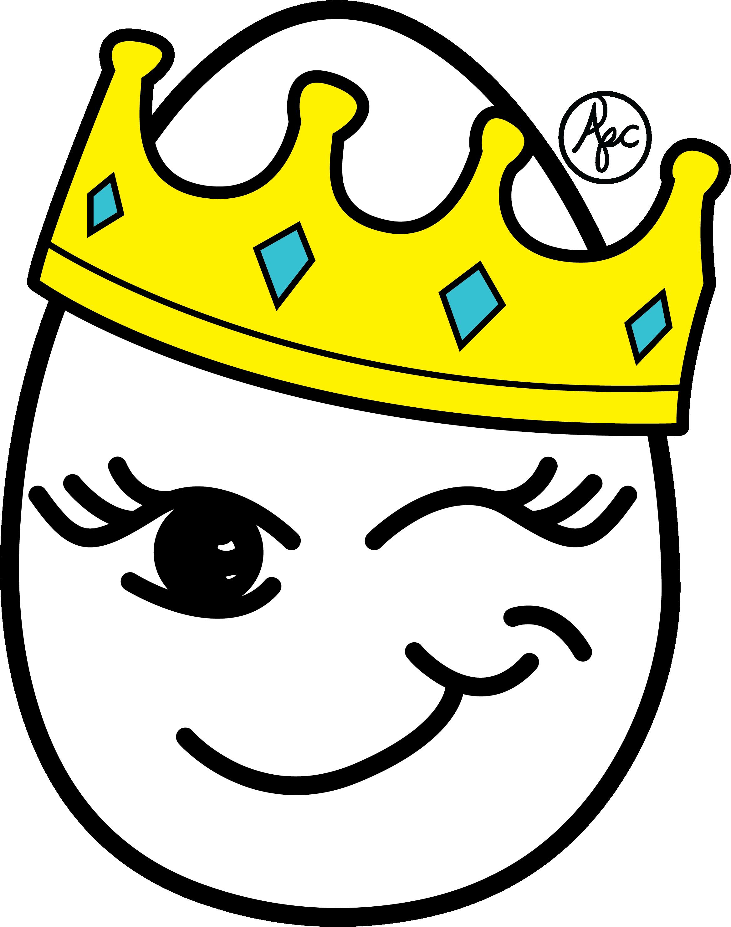 Egg Queen Merch Design